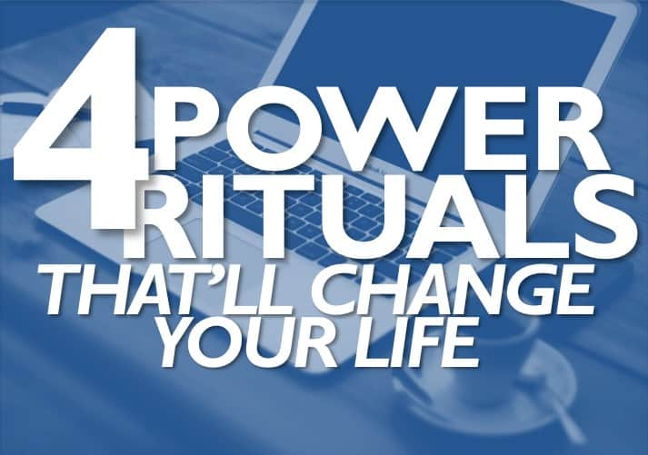 Power Rituals for Productivity and Focus