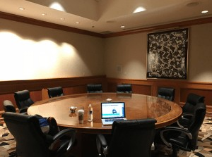 Productive and Focused Conference Room
