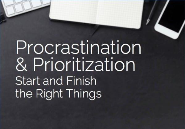 Procrastination and Prioritization Coaching