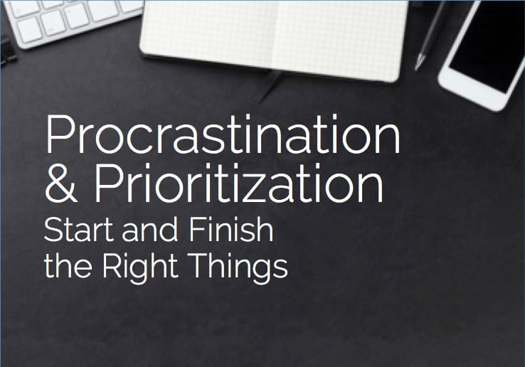 Procrastination and Prioritization Coaching